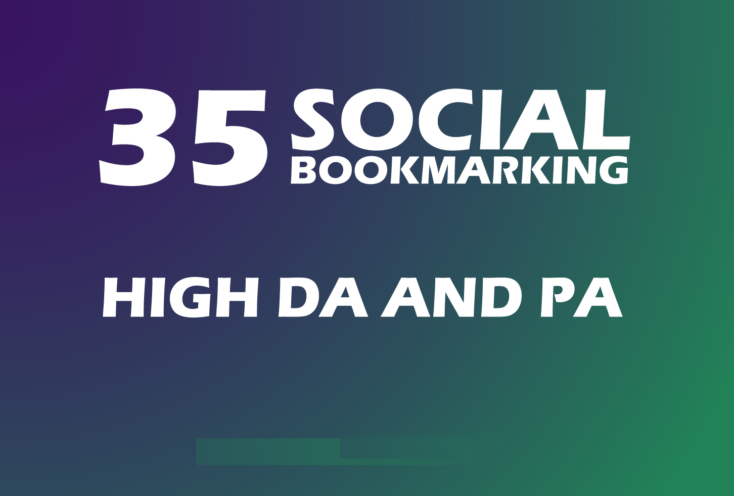 Instant 35 Live Social Bookmarking Links