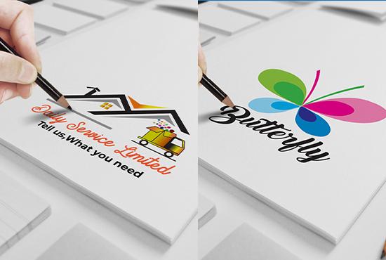 I will make stylish logo design