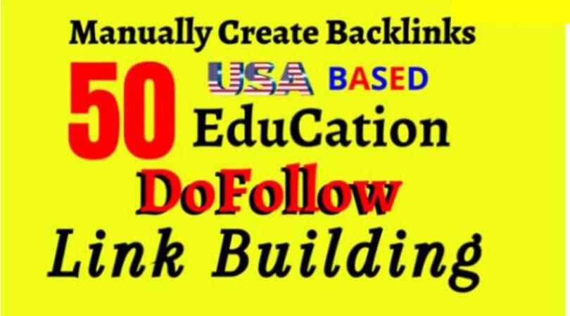 Do 50 pr9, edu dofollow SEO backlinks link building for google top ranking
