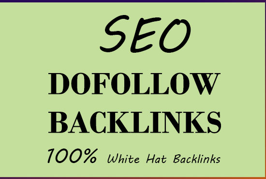 60 High Quality Do-follow Backlinks