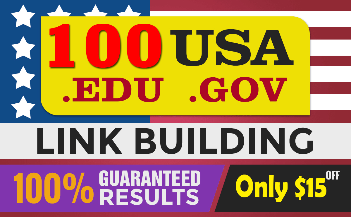 Do best rank at google with 100 USA backlinks link bulding