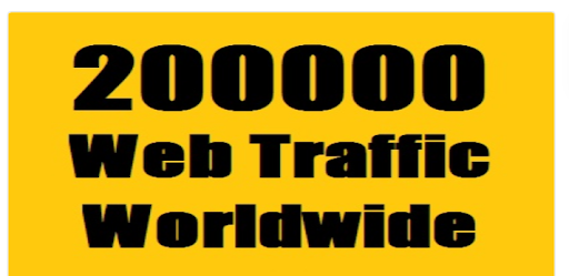 200,000 web traffic worldwide from TOP Social Media for