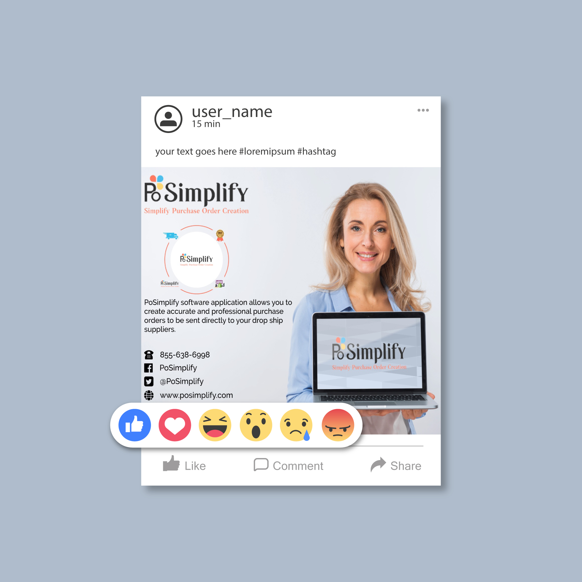 I will design Any social Media Post for your Business within 19 hours