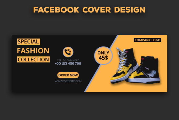 I will desing facebook cover for you within 19 hours