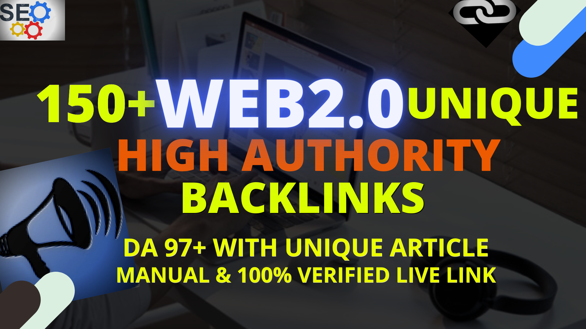 I will Provide 30 High Quality WEB 2 0 Backlinks With Unique Article