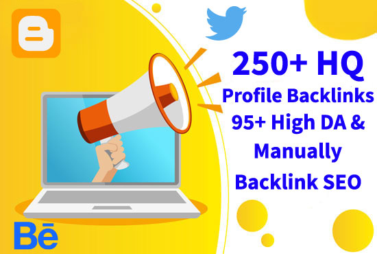 I Will Create High Quality Profile Blacklinks that's SEO Service