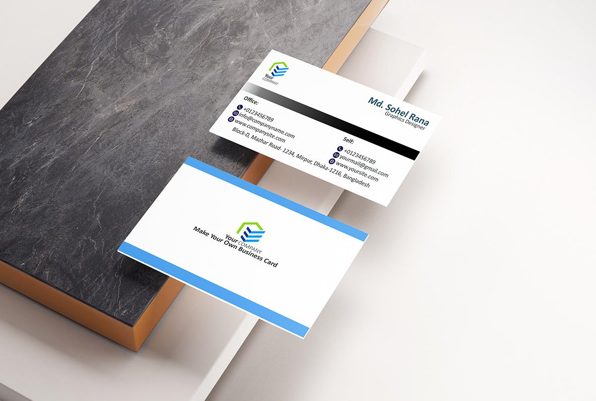 I will design standard professional business card