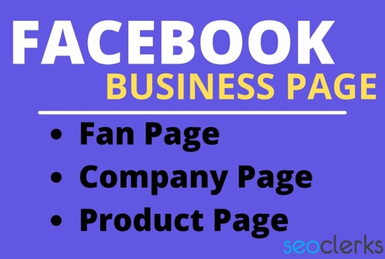 I will create and optimize impressive Facebook business page with cover image