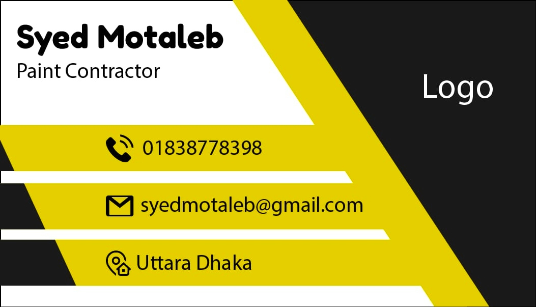 Design attractive business card for you.