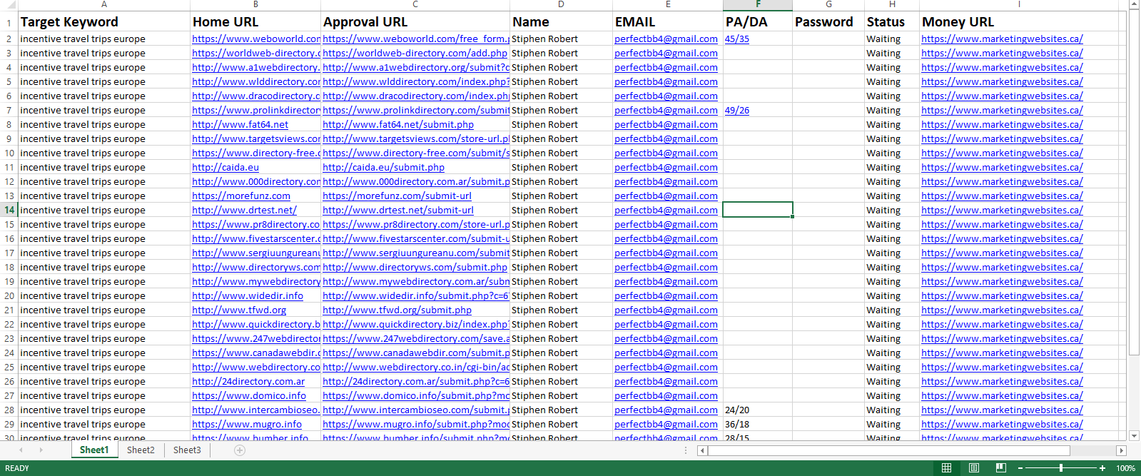 I will do 100 HQ DA PA local citations and directory submission