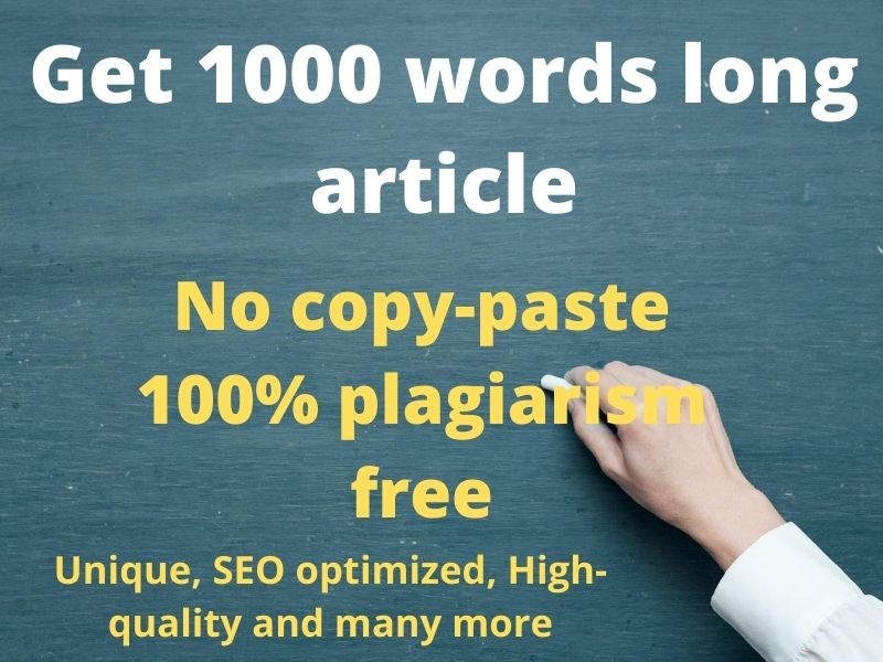 1000 words long article writing