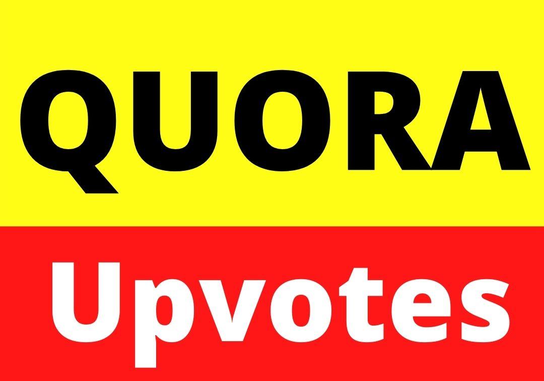 Get 90+ Quora ORGANIC upvotes UK,  USA