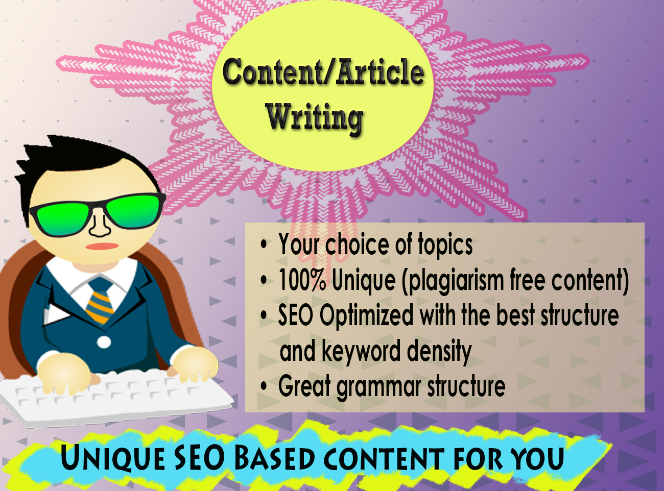 Get strong SEO based content for your related niche