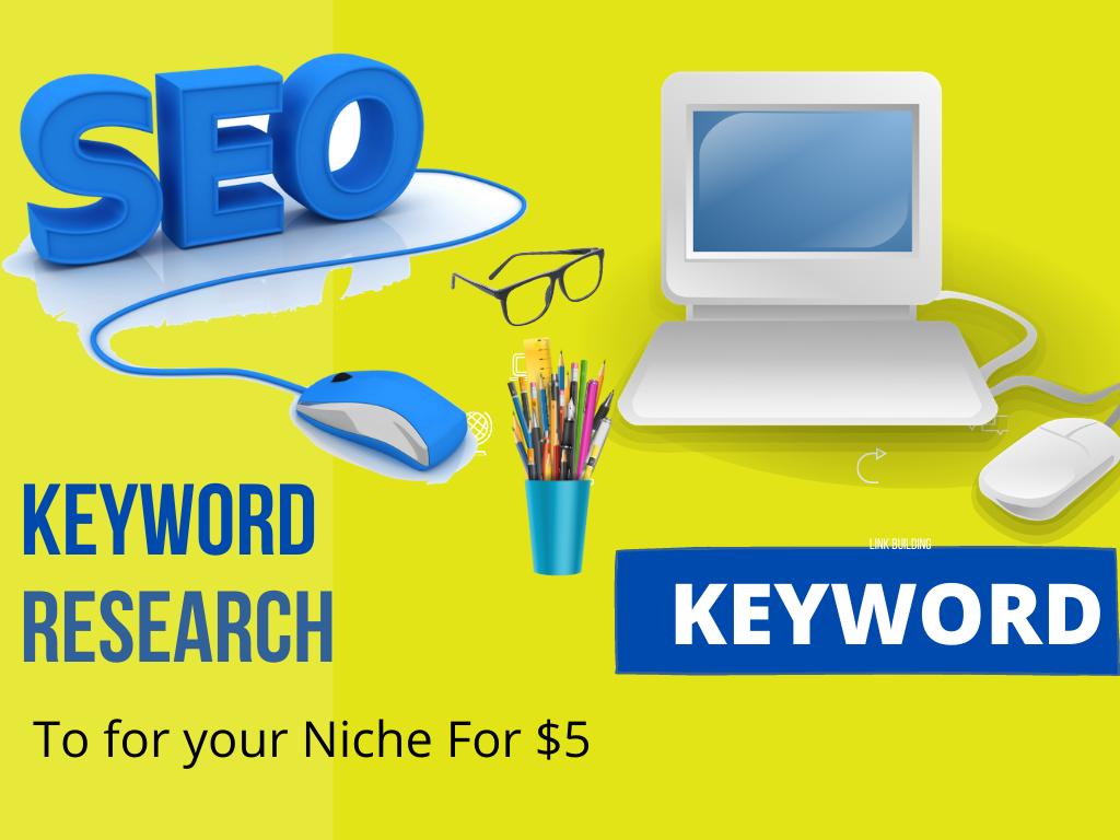50 Research SEO keywords for your niche