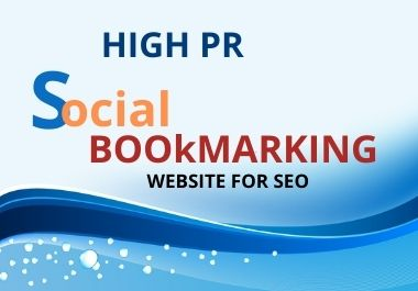 I will do 100 social bookmarking on high DA and PR sites manually for