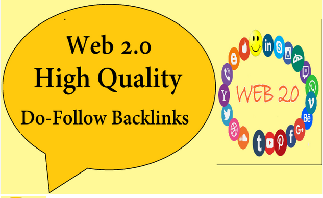 I will generate web 2 backlinks for your site