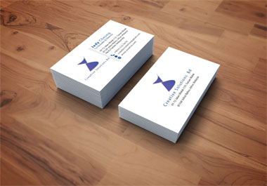 I will provide a unique and professional business card for your business