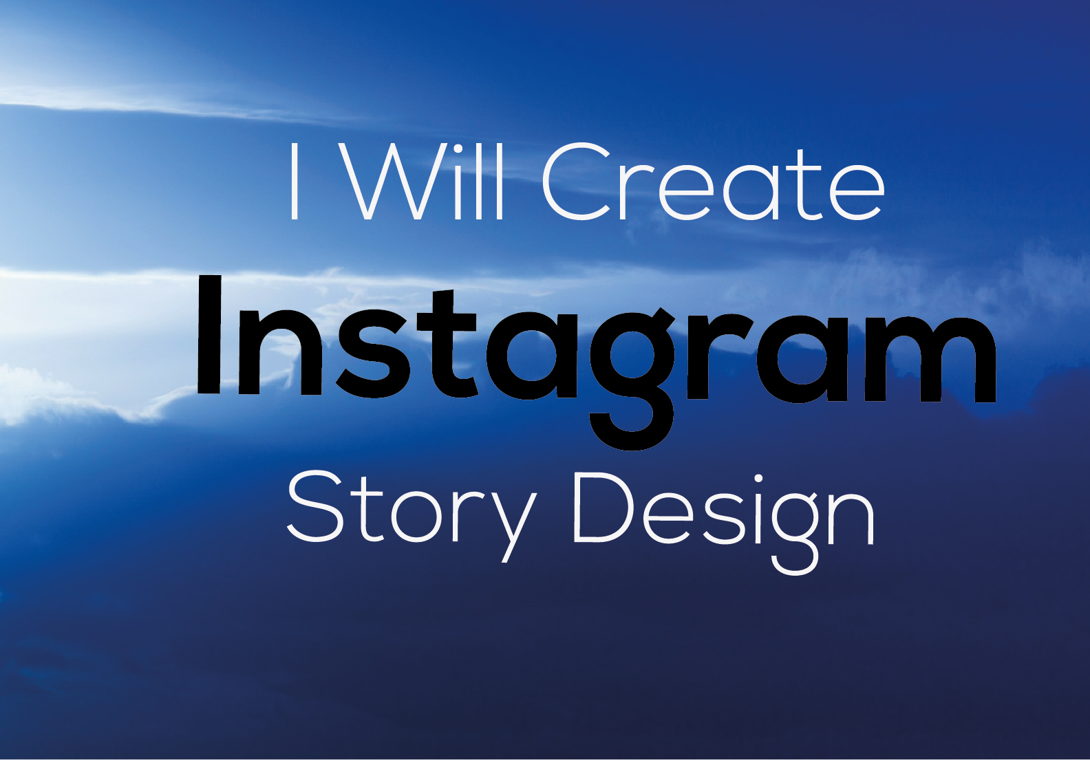 I will design creative 5 social media posts for Instagram