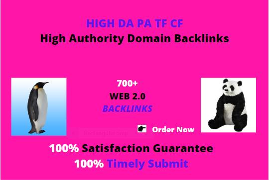 Premium 700+manual web 2.0 unique back-links for your sites punda & panguin