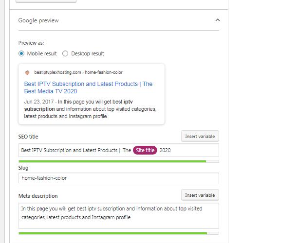 10 pages onpage SEO wordpress website ranking using yoast seo plugin