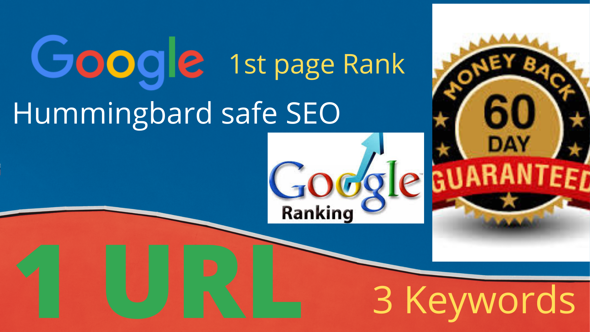 Rank Your website on 1st Page of Google or get back your money