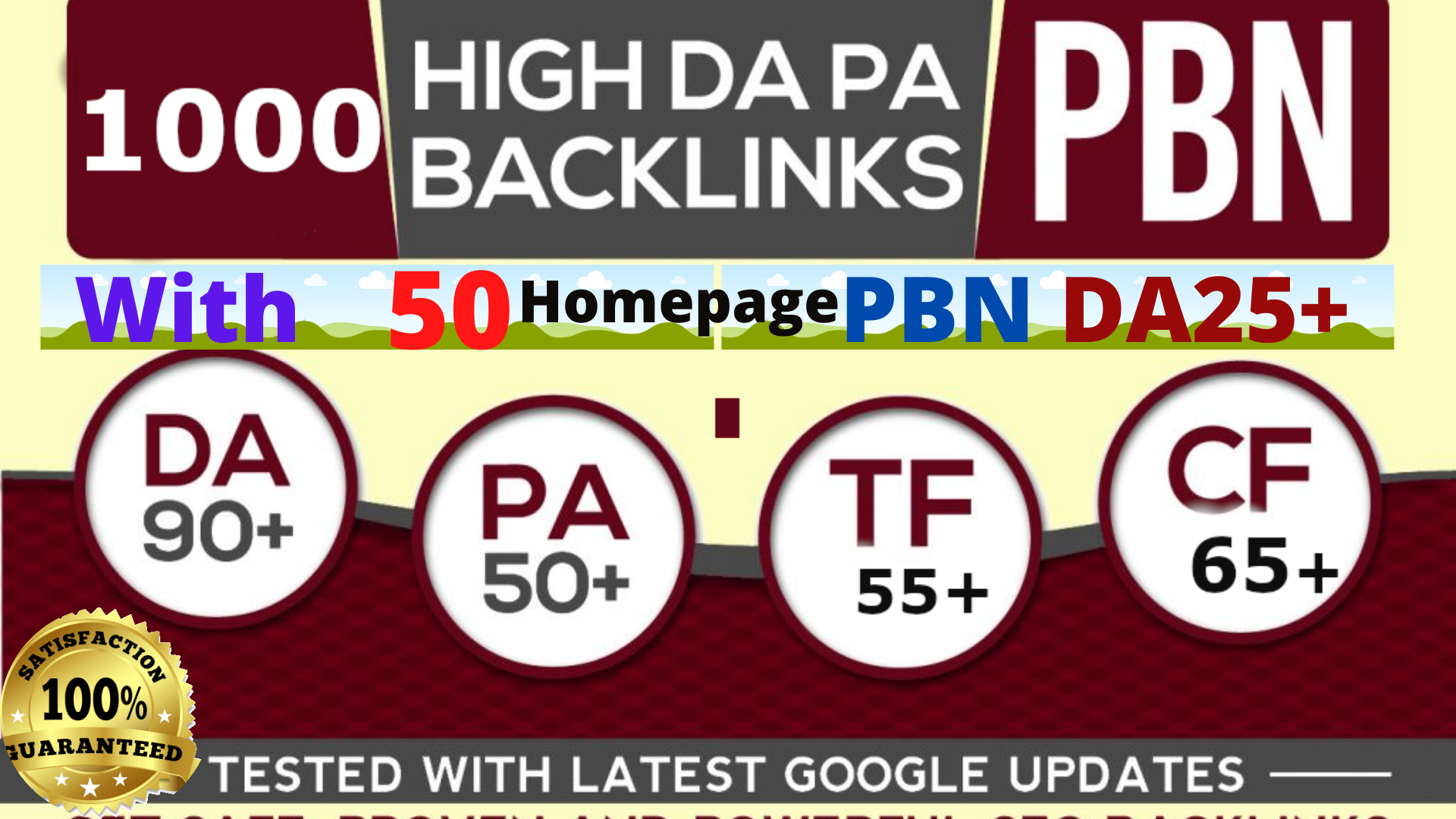 Manually done Powerful 1000+DA90 AND Homepage 50 PBN links with HIGH DA exclusive Backlink