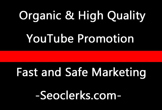 Organic YouTube video promotion via world-wide Audience