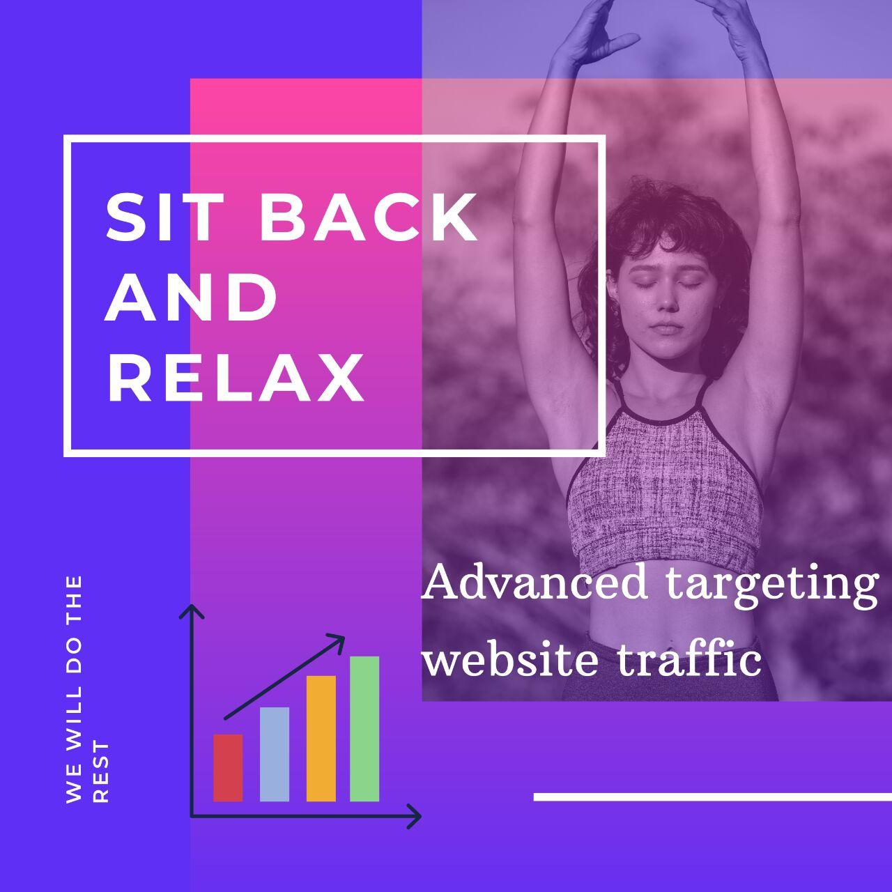 country targeted SEO friendly web traffic with best BR/Retention