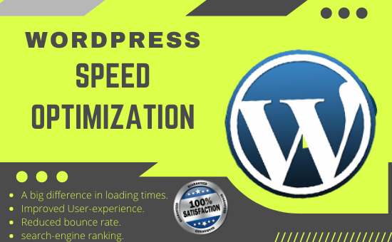 I will do WordPress speed optimization,  speed up your website