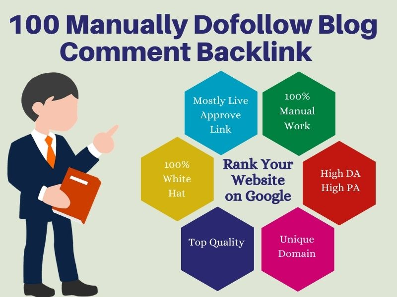 I Will Create 99+ Trust Flow Blog Comments with High Domain Authority And High Page Authority