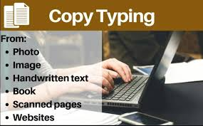 I will type your Documents in simple word file.