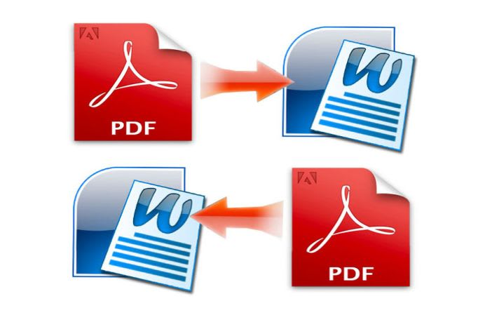 I will Convert PDF to word or Word to PDF