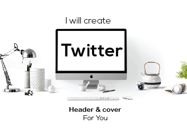 I will create Twitter Header & Cover design for you