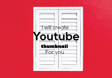 I will create YouTube post & thumbnail for you