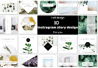 I will create Instagram post & Story design for you