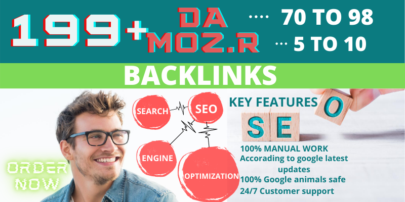 I Will Create 199+ high quality PR9 or DA 70+ HQ Google Dominating Profile BACKLINKS