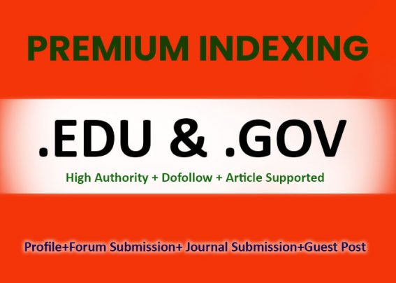 250 Edu, Gov,  High Authority Dofollow Backlinks Free 5 Reddit 5 Diigo Bookmark Best Result