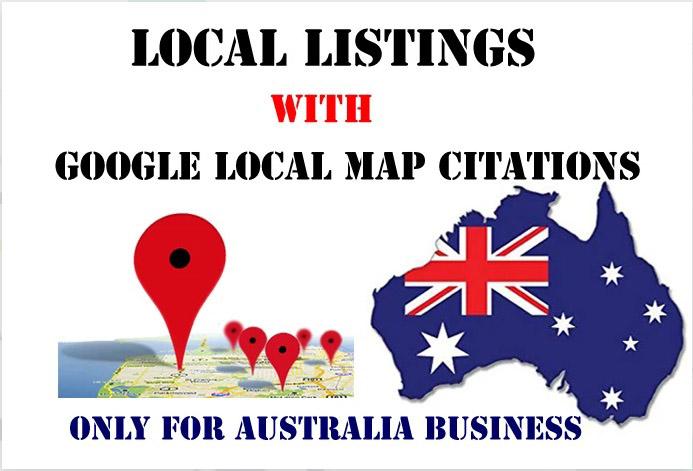 I Will Do 25 Australian High Quality Local Citations