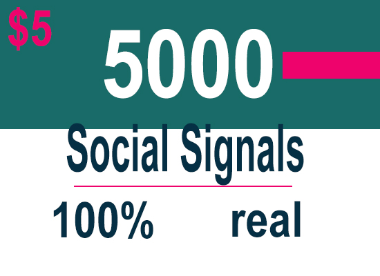 5000 Powerful Mixer Social Signals