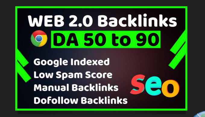 I will build web 2 0 backlinks