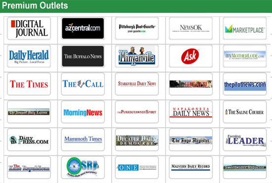 Press Release writing & submission to Tier 1 news channels Up to 500 different media outlets
