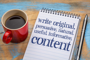 I will write all your website and social media content,  articles and blogs