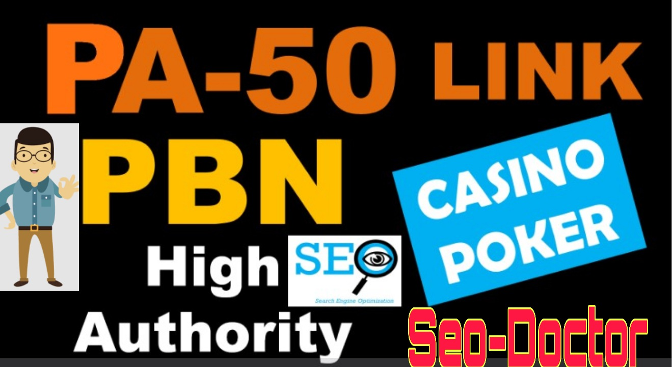 Updated PBN PA 77+ High Authority Backlinks for Casino Poker & Gambling