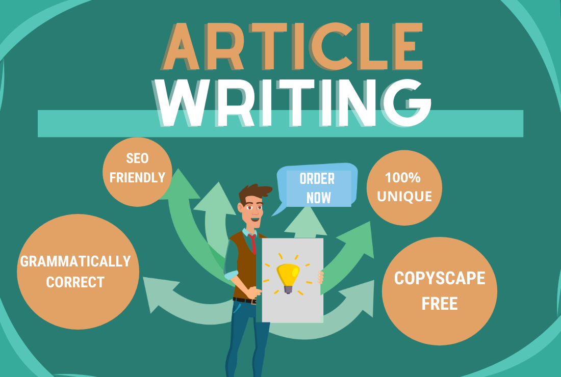 I Will Provide Any Type Of 700-1000 Words SEO Optimized Article With Quality Assurance