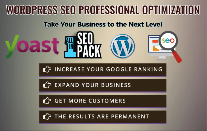 I will do wordpress SEO optimization to your site