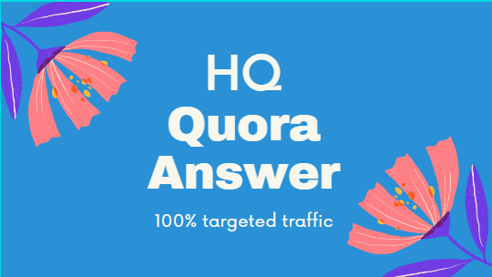 I will provide 15 quora answer for you