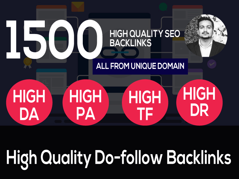 I can Build 1500 web 2.0 Backlinks,  all are from the unique website and manual work.