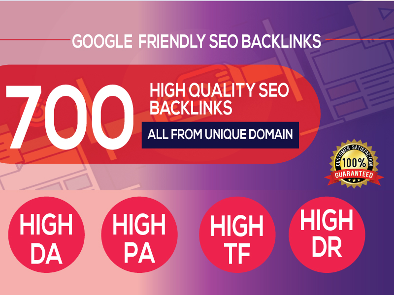 Best 700 Web 2.0 Backlinks service at low price
