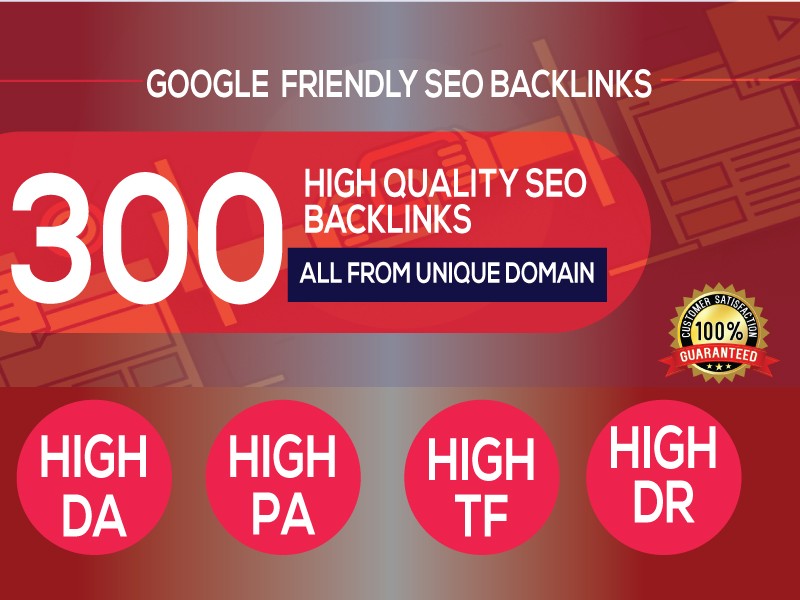 Do 300+PBN Backlink in your website hompage with HIGH DA/PA/TF/CF with unique websites