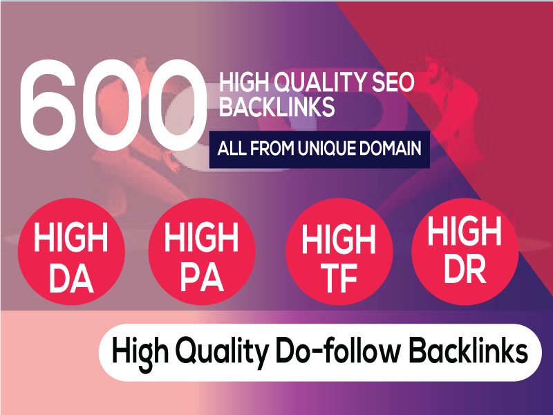 Best 600 Web 2.0 Backlinks service at low price